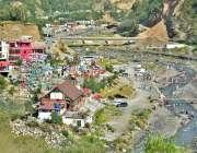 ایبٹ آباد: نتھیا گلی اور ایبٹ آباد کے مابین دریائے درور پر ہارنوئی پکنک ..