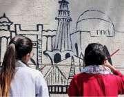 راولپنڈی: مختلف کالج و یونیورسٹی کے طلباء طالبات فاطمہ جناح یونیورسٹی ..