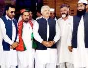 پشاور: وزیراعلیٰ خیبرپختونخوا محمود خان تحصیل ناظم ڈومائل (بنوں) فدا ..