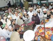 لاہور: مرکزی جامع مسجد لاثانی فیروز والا میں عظمت صحابہ و اہل بیت کانفرنس ..