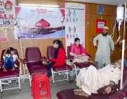 حیدر آباد: تھیلیسیمیا کے عالمی دن کے موقع پر متاثرہ بچوں کا عالج معالجہ ..