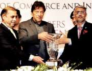 اسلام آباد: وزیر اعظم عمران خان کو صدر آر سی سی آئی ملک شاہد سلیم سوینئر ..