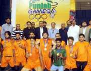 لاہور: ڈائریکٹر جنرل سپورٹس پنجاب ندیم سرور کا72ویں پنجاب گیمز2019ء کے ..