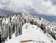 باغ: آزاد کشمیر کے سیاحتی مقامات گنگا چوٹی اور نانگا پیر پر برفباری ..