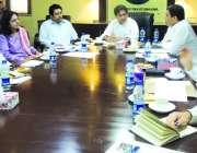 پشاور: سینئر وزیر برائے سیاحت عاطف خان نئے مر بوط سیاحتی زونز کے حوالے ..