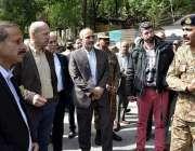 نیلم: انٹر سروسز تعلقات عامہ کے ڈائرکٹر جنرل میجر جنرل آصف غفور میڈیا ..