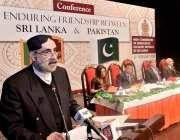 اسلام آباد: وفاقی وزیر برائے فوڈ سکیورٹی اینڈ ریسرچ صاحبزادہ محمد محبوب ..