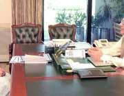 اسلام آباد: صدر مملکت ڈاکٹر عارف علوی سے ڈاکٹر فہمیدہ مرزا ملاقات کر ..