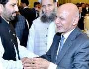 اسلام آباد: افغان صدر اشرف غنی کے اعزاز میں عشائیہ کے موقع پر ڈپٹی سپیکر ..