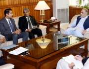 اسلام آباد: اسپیکر قومی اسمبلی اسد قیصر نے پارلیمنٹ ہاؤس میں ای ڈی پمز ..
