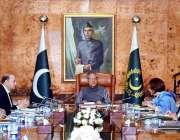 اسلام آباد: صدر مملکت ڈاکٹر عارف علوی کو سول ایوارڈز بارے بریفنگ دی ..