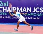 کراچی: دوسرے چیئرمین جوائنٹ چیفس آف سٹاف کمیٹی اوپن ٹینس چمپئن شپ2019ء ..