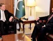 اسلام آباد: وزیر خارجہ شاہ محمود قریشی سے سربراہ اسلامی فوجی اتحاد ..