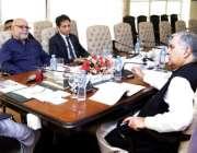 لاہور: وزیر اعلیٰ پنجاب سردار عثمان بزدار پنجاب لینڈ ریکارڈ اتھارٹی ..