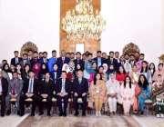 اسلام آباد: صدر مملکت ڈاکٹر عارف علوی کا سندھ مدرستہ الاسلام یونیورسٹی ..
