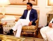 لاہور: وزیر اعظم کے معاون خصوصی برائے اوورسیز پاکستانیز زلفی بخاری ..