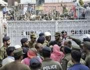 لاہور: قائد حزب اختلاف حمزہ شہباز کی عبوری ضمانت کی درخواستوں پر سماعت ..