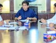 پشاور: سینئر وزیر برائے سیاحت و کھیل عاطف خان شندور پولو فیسٹیول اور ..
