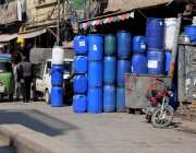 راولپنڈی: بوہر بازار لال حویلی کے قریب دکانداروں نے تجاومات بنا رکھی ..