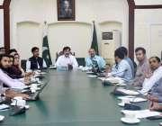 لاہور: ایڈیشنل ڈپٹی کمشنر جنرل صفدر حسین ورک انسداد ڈینگی کے حوالے ..