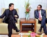 بیجنگ: وزیر اعظم عمران خان سے ایتھوپیا کے ہم منصب دوسری بیلٹ اینڈ روڈ ..