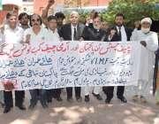 لاہور: سول سوسائٹی کے ارکان حکومتی پالیسیوں کیخلاف احتجاج کر رہے ہیں۔
