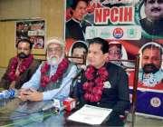 لاہور: قومی امن کمیٹی برائے بین المذاہب ہم آہنگی پنجاب کے صدر خلیل کامران ..
