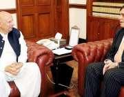 لاہور: گورنر پنجاب چوہدری محمد سرور سے پنجاب انسٹیٹیوٹ آف نیورو سائنسز ..