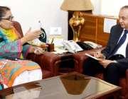 اسلام آباد: مشیر تجارت عبدالرزاق داؤد سے کینیا کے لیے پاکستان کی سفیر ..
