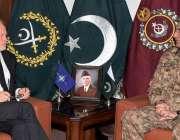 راولپنڈی: آرمی چیف جنرل قمر جاوید باجوہ سے نارتھ ایٹلانٹک ٹریٹی آرگنائزیشن ..