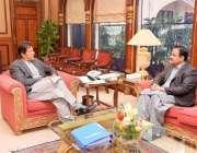 اسلام آباد: وزیر اعظم عمران خان سے وزیر اعلیٰ پنجاب عثمان بزدار ملاقات ..