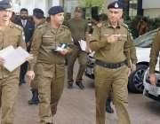 لاہور: کیپٹل سٹی پولیس چیف بی اے ناصر ہوٹل میں سری لنکن ٹیم کیلئے سکیورٹی ..
