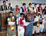 لاہور: نیشنل سپیشل ایجوکیشن سینٹر جوہر ٹاؤن میں ایپکا کے نو منتحب عہدیداران ..