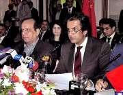 اسلام آباد: وفاقی وزیر منصوبہ بندی ترقی و اصلاحات ، مخدوم خسرو بختیار ..