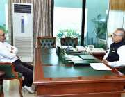 اسلام آباد: صدر مملکت ڈاکٹر عارف علوی سے ایم پی اے دیوان سچل ملاقات ..