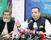 لاہور: وزیر سکولز ایجوکیشن پنجاب ڈاکٹر مراد راس اساتذہ کے تبادلوں کے ..