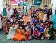 لاہور: چیئرپرسن قائمہ کمیٹی برائے داخلہ مسرت جمشید چیمہ کا چائنیز وفد ..