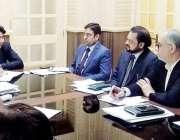 لاہور: صوبائی وزیر ہائر ایجوکیشن راجہ یاسر ہمایوں سرفراز سے پنجاب پروفیسرز ..
