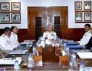 کراچی: چیف آف دی نیول سٹال ایڈمرل ظفر محمود عباسی بورڈ آف ڈائریکٹرز ..