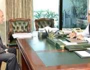 اسلام آباد: صدر مملکت ڈاکٹر عارف علوی سے ڈائریکٹر کامسیٹس یونیورسٹی ..