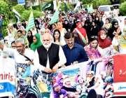 نوشہرہ:محکمہ سوشل ویلفیئر کے زیراہتمام مقبوضہ کشمیر کی خواتین سے اظہار ..