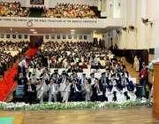 لاہور: گورنر پنجاب چوہدری محمد سرور علامہ اقبال میڈیکل کالج کے17ویں ..