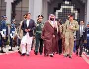 اسلام آباد: سعودی ولی عہد محمد بن سلمان پاکستان کا دو روزہ کامیاب دورہ ..