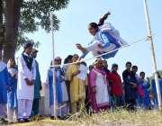 سرگودھا: گورنمنٹ پائلٹ گرلز ہائی اسکول میں پنجاب میں کھیلوں کی بحالی ..
