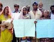 حیدرآباد: لطیف آباد یونٹ نمبر 10 کے رہائشی با اثر افراد کے خلاف انصاف ..