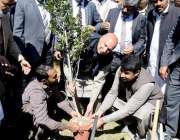 لاہور: گورنر پنجاب چوہدری محمد سرور زرعی یونیورسٹی سب کیمپس فیصل آباد ..