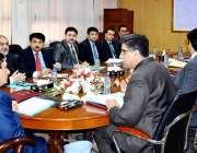 اسلام آباد: چیئرمین نیب ، جسٹس (ر) جاوید اقبال کی زیر صدارت اجلاس میں ..