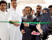اسلام آباد: چیئرمین قومی اسمبلی قائم کمیٹی خزانہ اسد عمرترنول میں ویمن ..