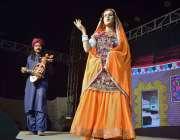 حیدرآباد: اتوار کی رات دیر گئے سندھ میوزیم میں تیسرا سندھ صوفی میلے ..