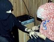 اٹک: بلدیہ اٹک کے زیر اہتمام سپورٹس گالا پروگرام کے تحت ایک خاتون دوسری ..